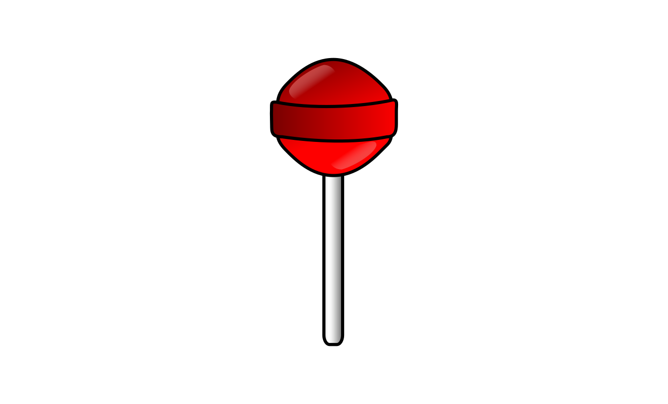"Red lollipop by Morgaine1976 - Used for android game ""Candyland"""