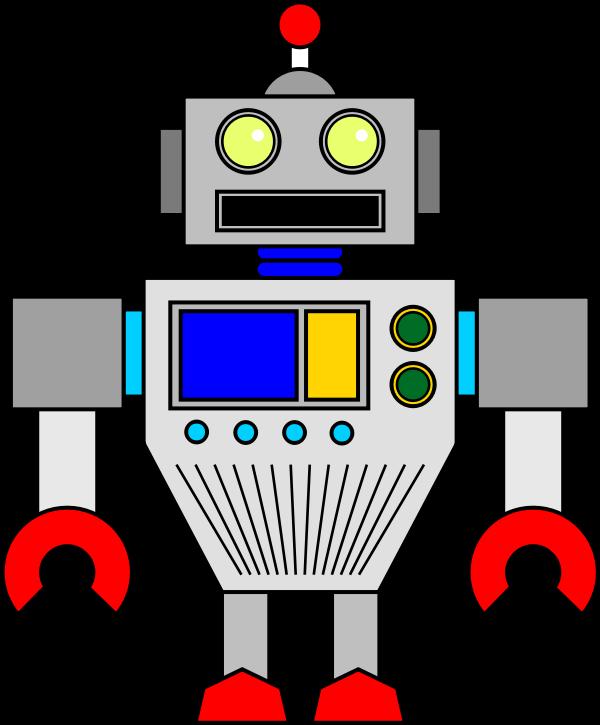 Clipart - Random Robot