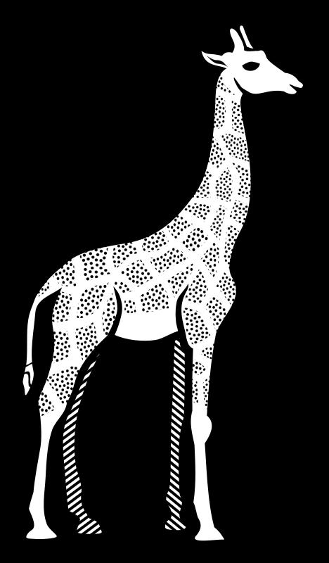 Line Drawing Giraffe : Clipart giraffe lineart