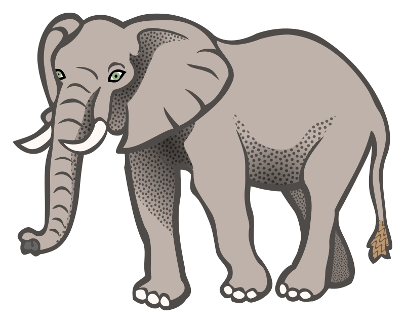 microsoft clip art elephant - photo #9