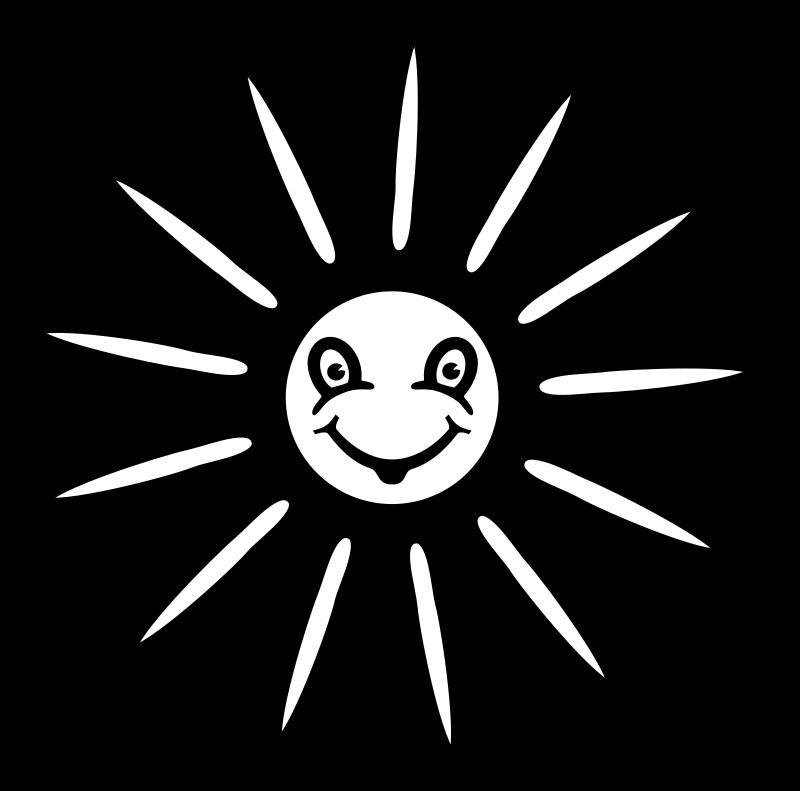 Line Art Of Sun : Clipart sun lineart