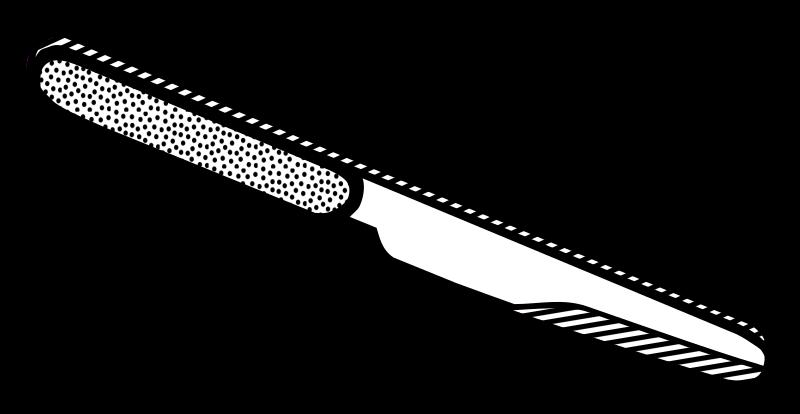 Line Art Knife : Clipart knife lineart