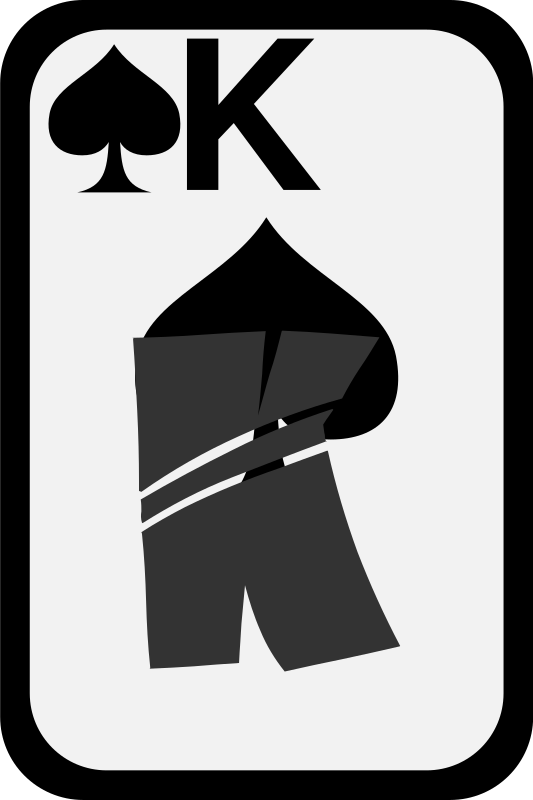 King of Spades by momoko - King of spades from a funky card deck