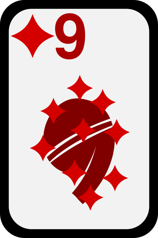 Nine of Diamonds by momoko