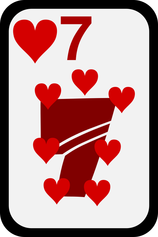 Seven of Hearts by momoko