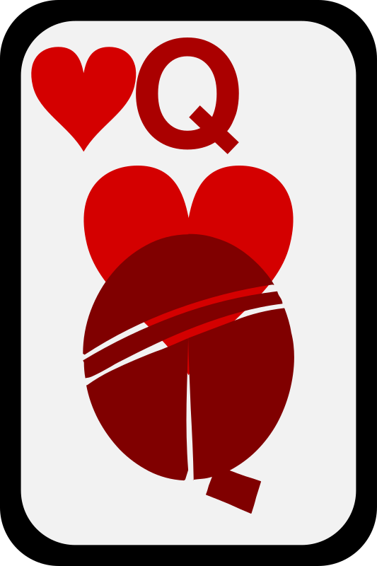 Queen of Hearts by momoko - Queen of hearts from a funky card deck