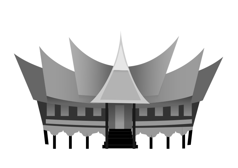 ... traditional house of minangkabau west sumatera indonesia rumah gadang