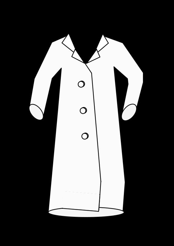 clipart laboratory coat
