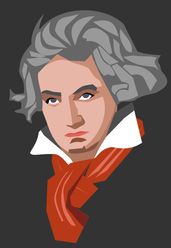 Clipart - Beethoven