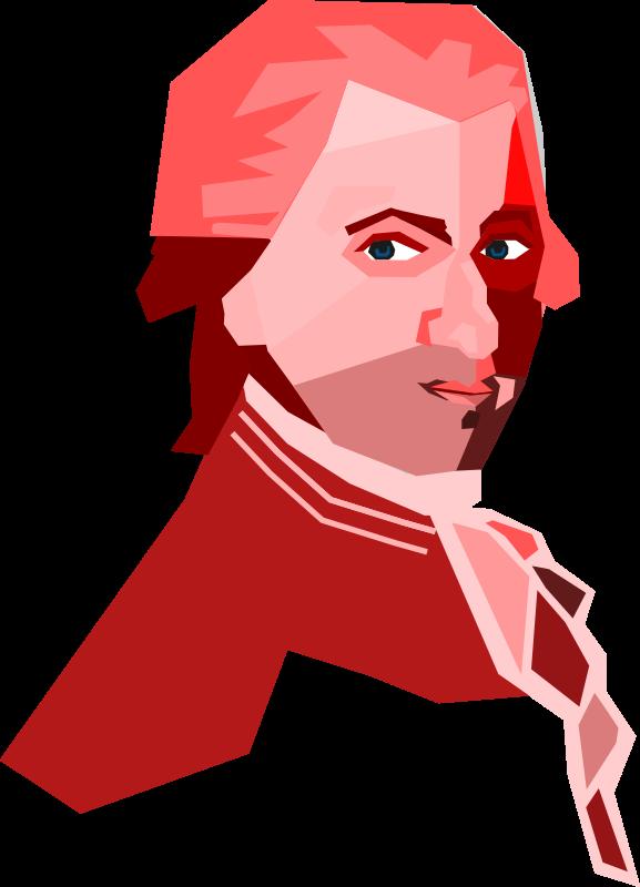 Clipart Mozart