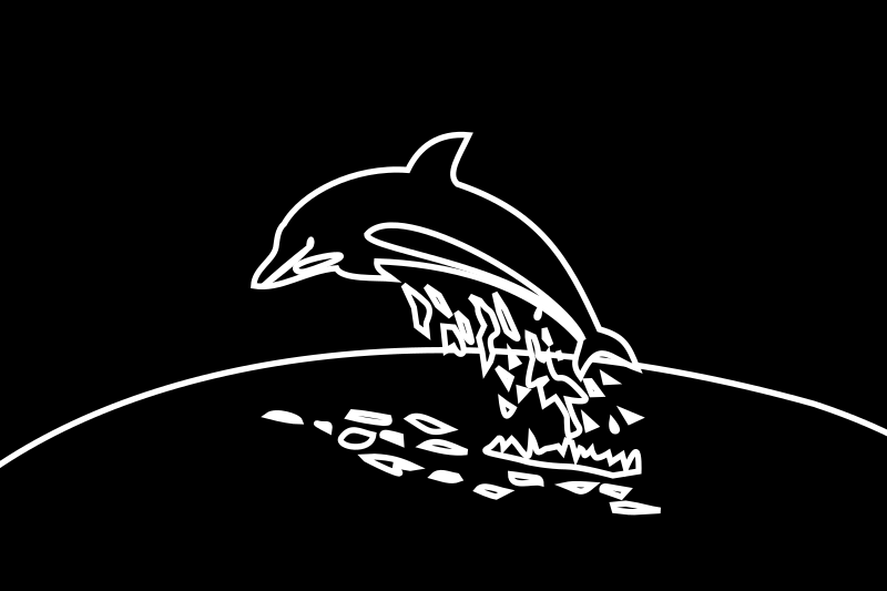 https://openclipart.org/image/800px/svg_to_png/215992/dolphin--white-blackBG.png