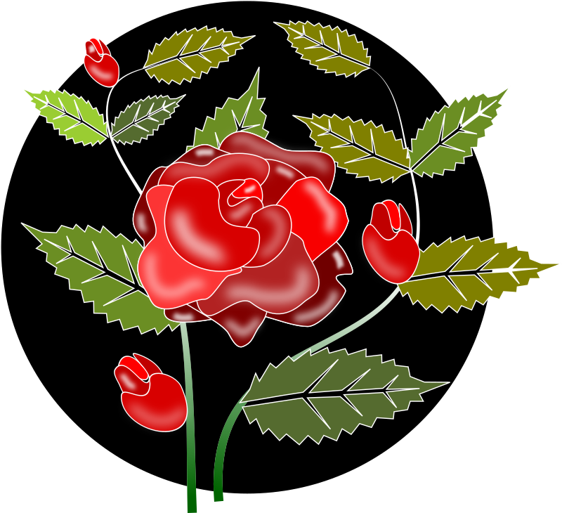 Rose Flowers Pictures With Love Clipart - Rosa Rose
