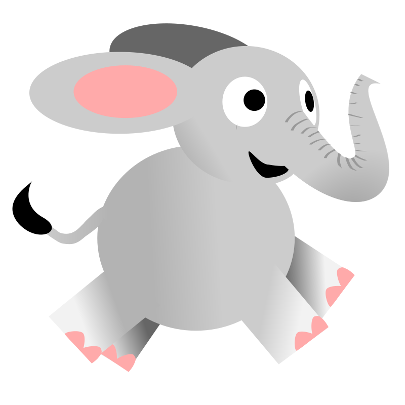microsoft clip art elephant - photo #14