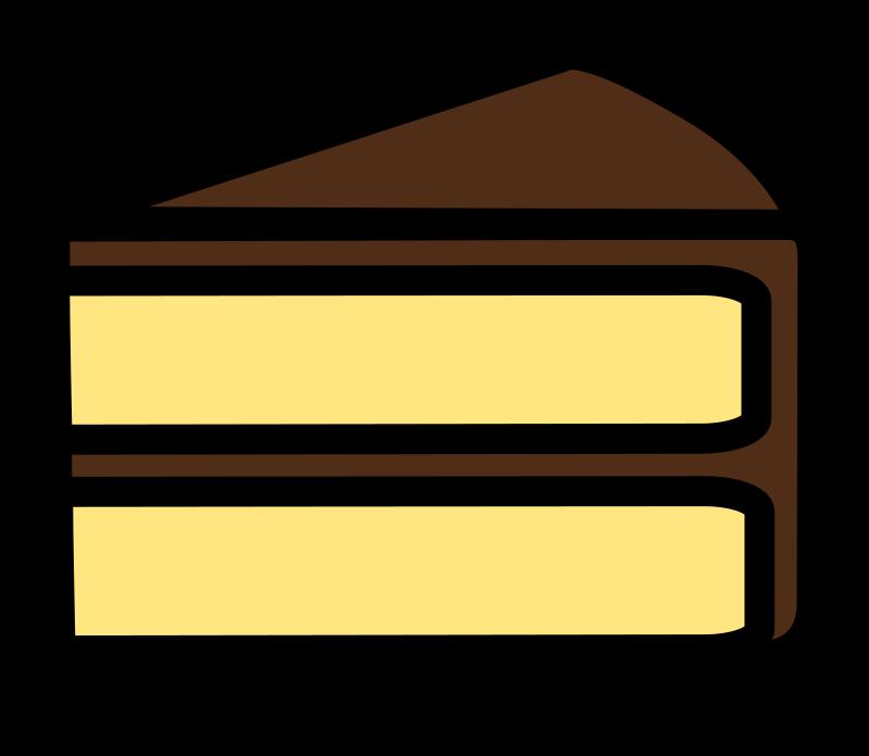 Slice Of Cake Clipart : Clipart - Slice of Cake