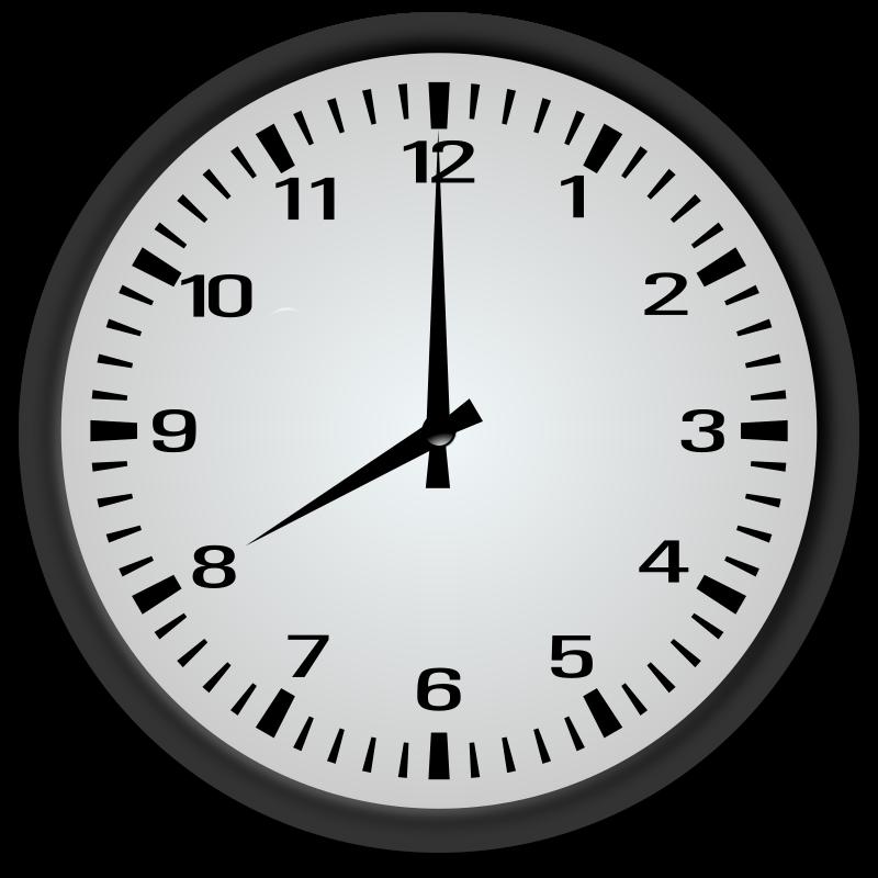 clipart 8 o'clock - photo #30