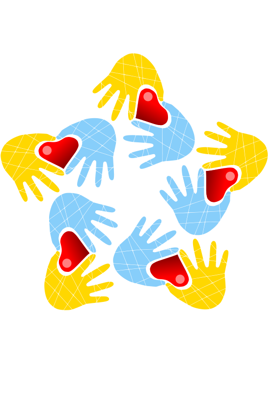 Clipart - Hands and hearts - #request