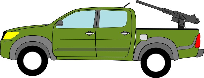 Clipart Toyota Hilux Technical