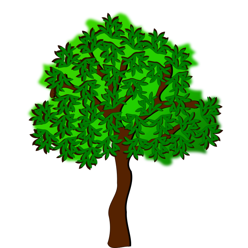 Clipart - tree-17a