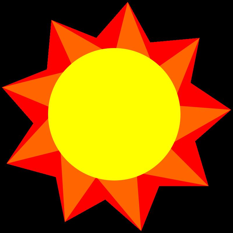 Clipart - Sun, Spring, 2015