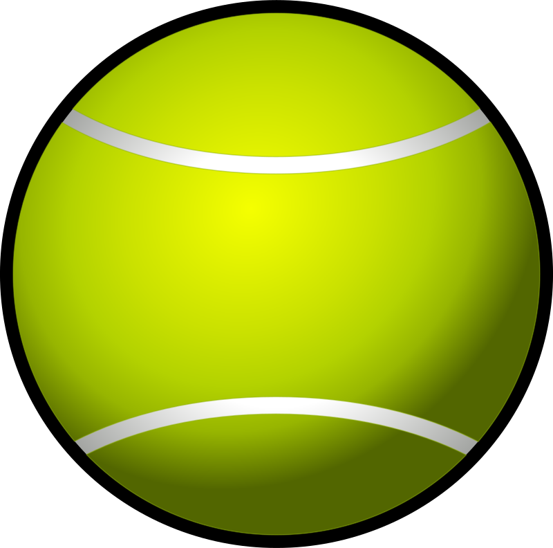 tennis ball simple by Chrisdesign - A tennis ball.