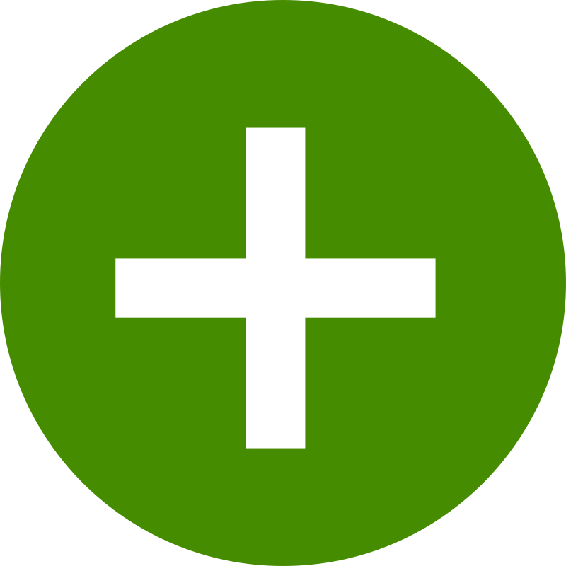 Clipart - plus icon