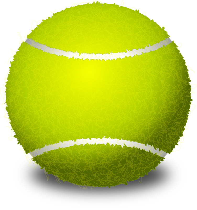 tennis ball by Chrisdesign - Check out the screencast tutorial at: