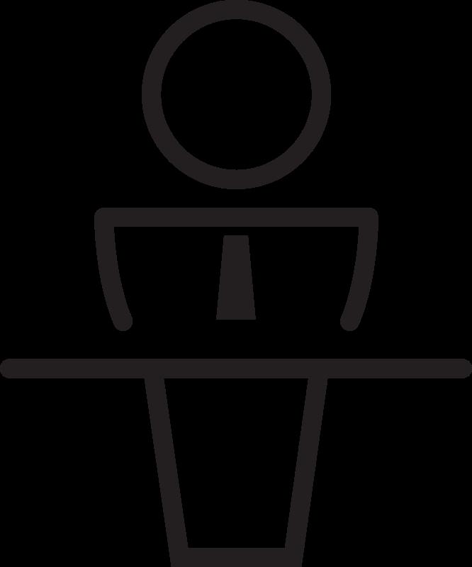 Clipart - Public Speaker