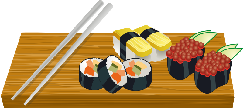 free png Sushi Clipart images transparent