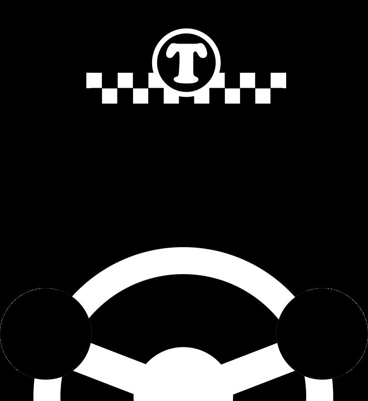 clipart - taxi driver