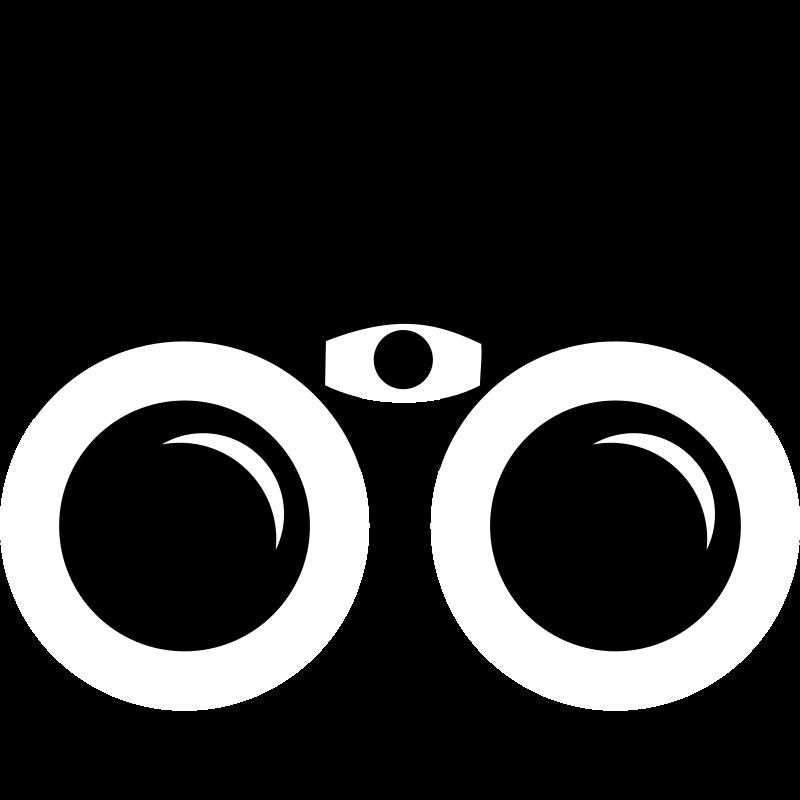 Clipart - Binocular