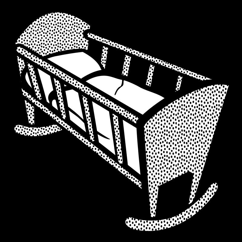 clipart baby cradle - photo #12