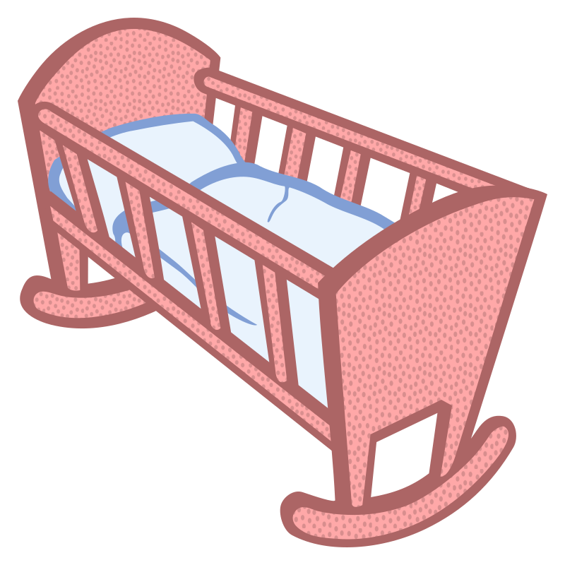 clipart baby cradle - photo #6