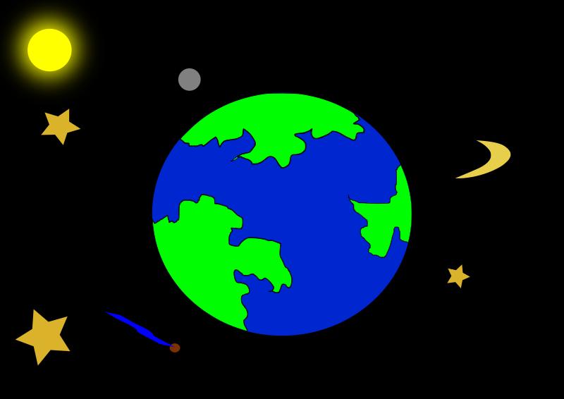 spaceship earth clipart - photo #42