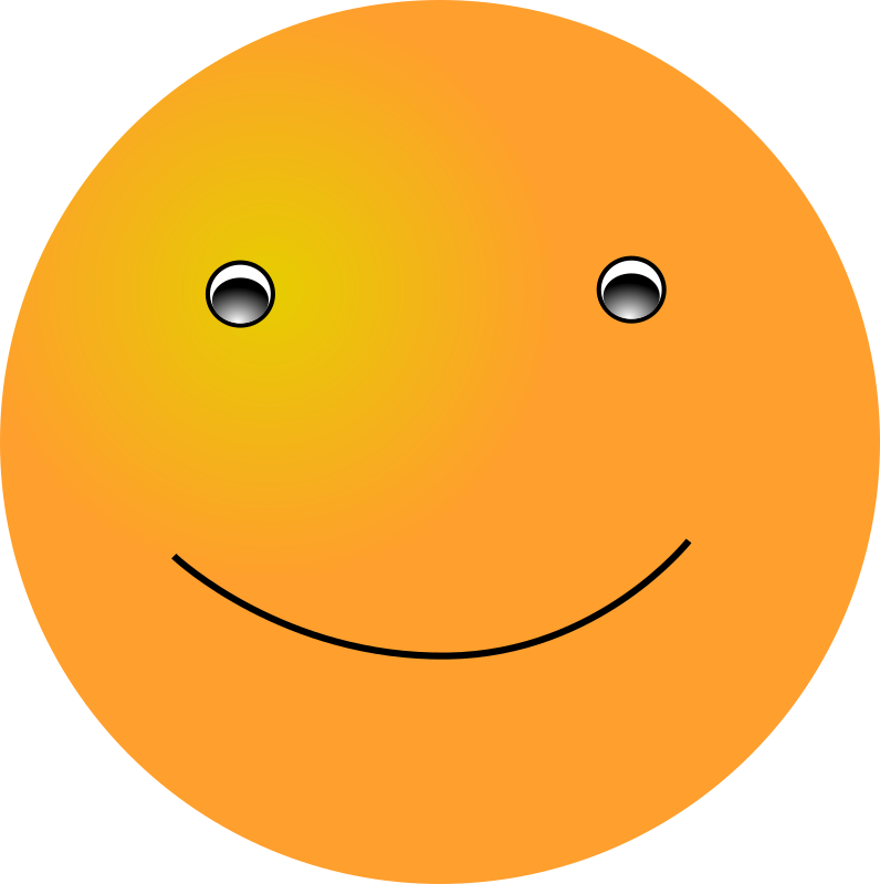 Smiley: Simple by nicubunu - the basic smiley