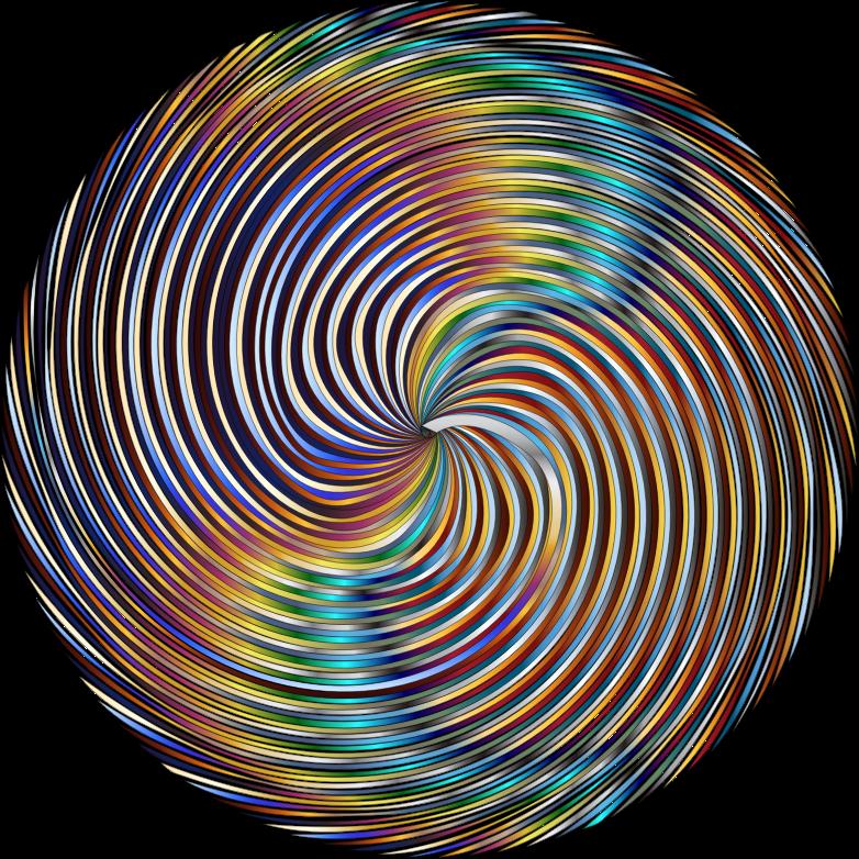 Clipart - Chromatic Pinwheel