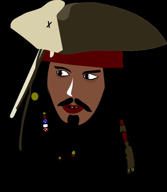 Clipart - Captain Jack Sparrow