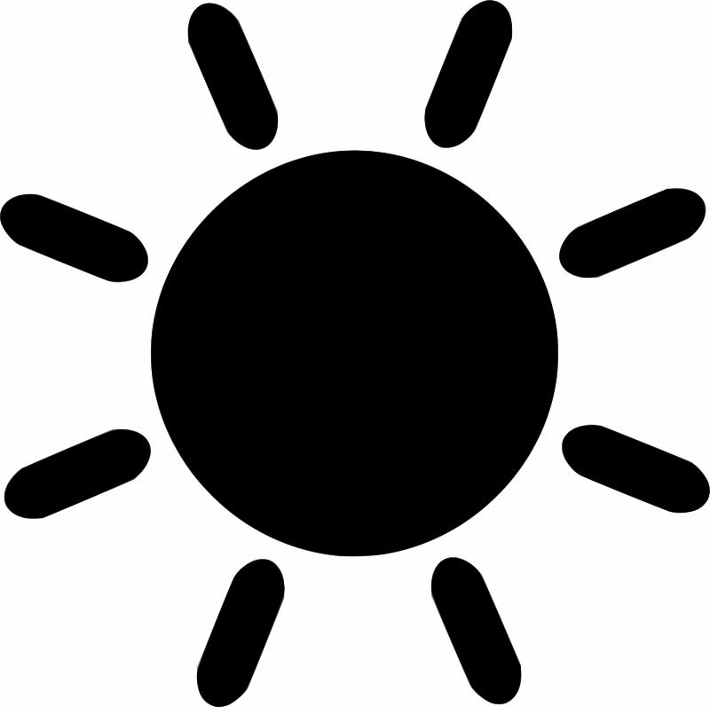 Clipart - Sun icon