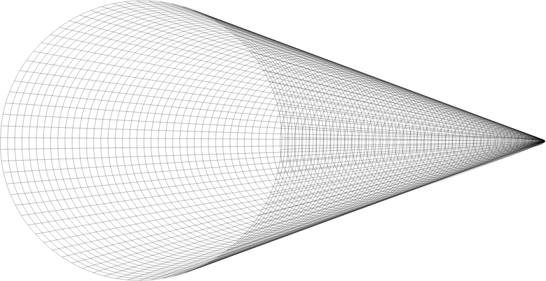 Clipart - Grid Cone