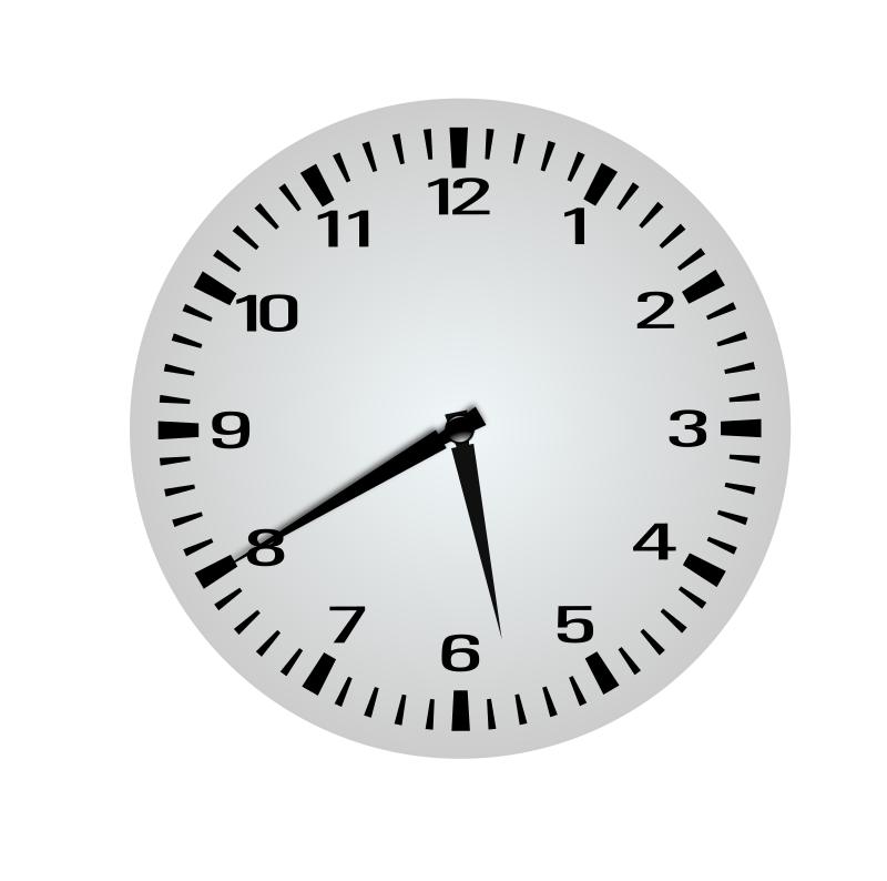 clipart twenty minutes before six 5 40 clip art of clocks at 7 clip art of clocks time change