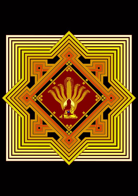 Clipart - Mandala