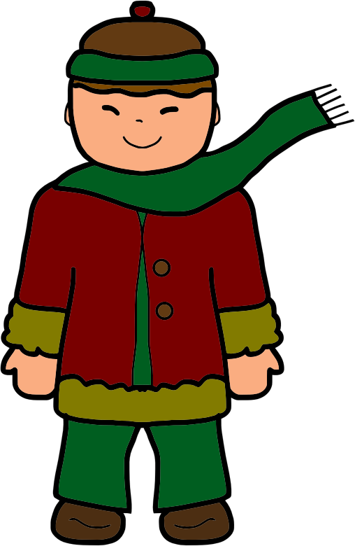 clipart winter clothing - photo #50