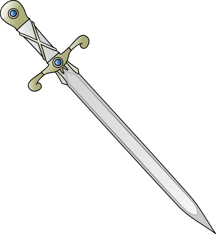 Long sword by nicubunu