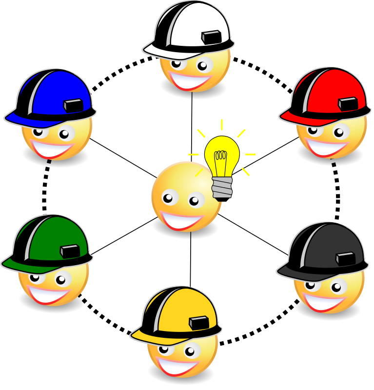 Clipart - Six hats to thinking v2