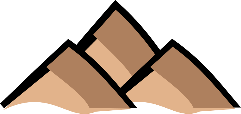 Clipart - Mountain - map symbol