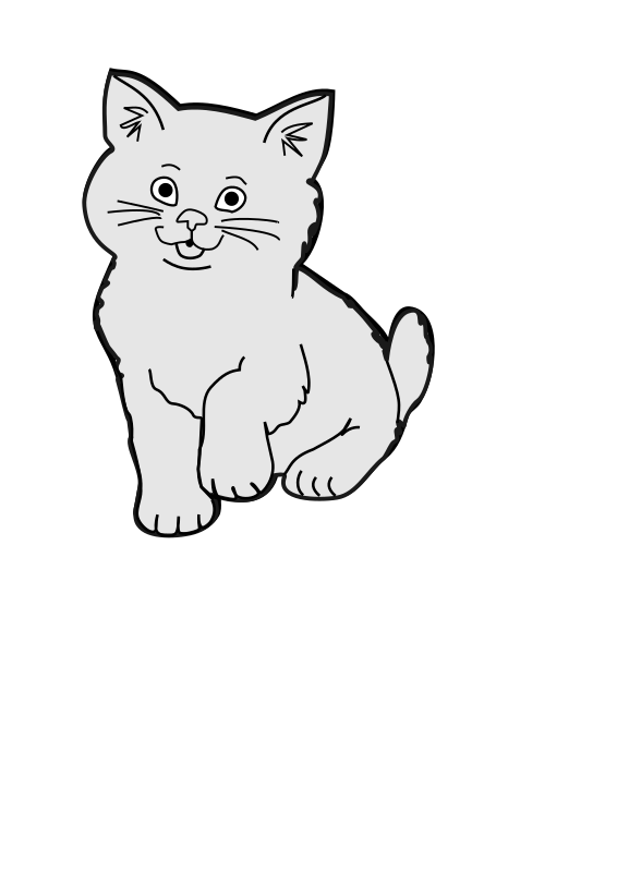 Clipart Kucing Imut