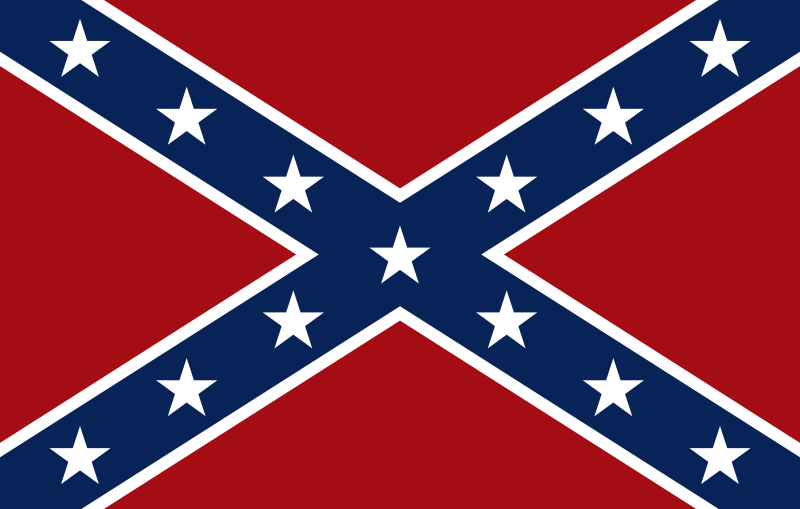 clipart - confederate flag