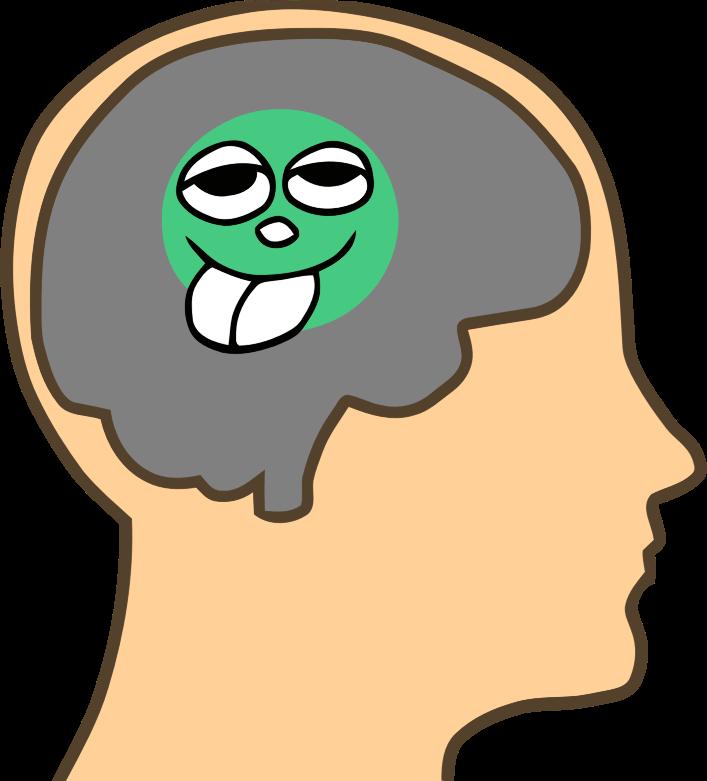 Clipart - Pea Sized Brain (Fixed)
