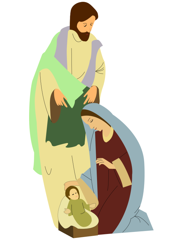 nativity by hairymnstr - A design I did for some family Christmas cards.