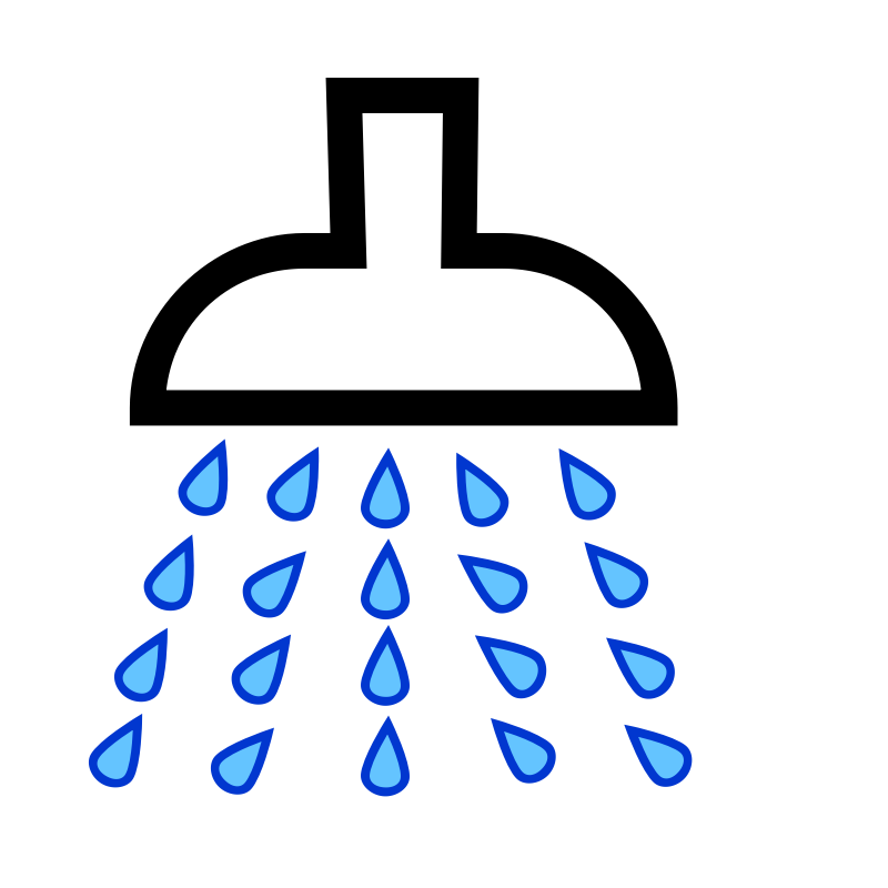 clipart shower 2 rh openclipart org shower clipart boy shower clipart gif
