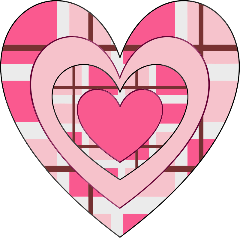 Clipart - Fancy Valentine Heart